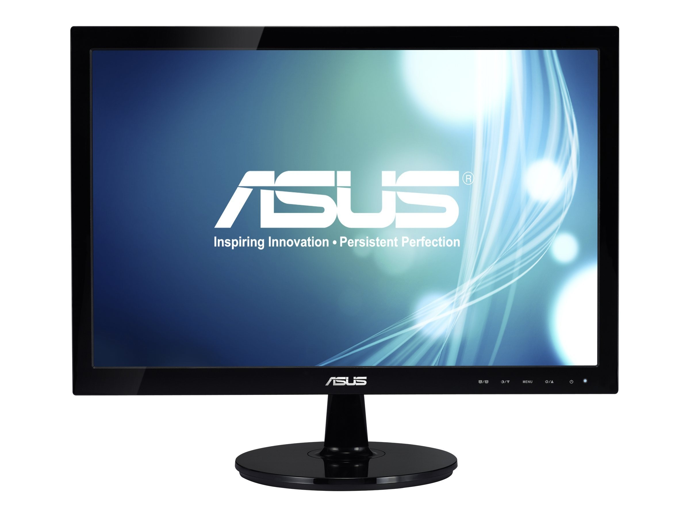 Asus 19 VS197D-P Widescreen LED-LCD Monitor, Black, VS197D-P, 13244688, Monitors - LED-LCD