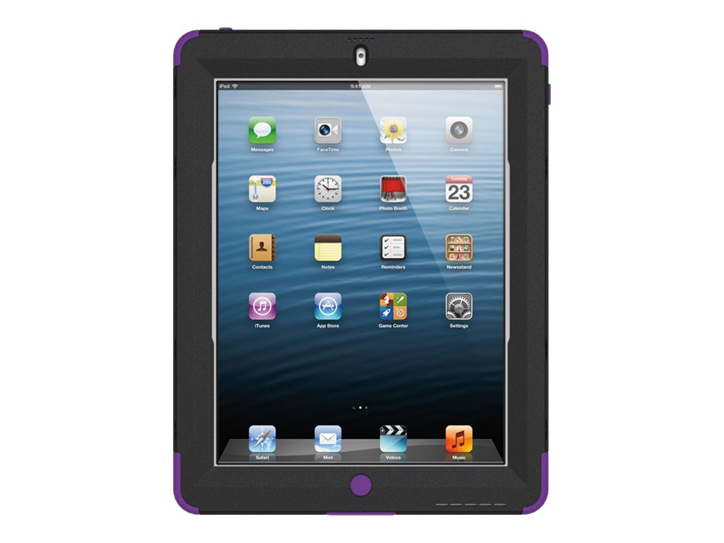 Trident Case Kraken AMS for iPad 4th Gen, Purple, AMS-NEW-IPADUS-PP, 16075437, Carrying Cases - Tablets & eReaders