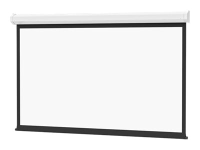 Da-Lite Cosmopolitan Electrol Projection Screen, Matte White, 16:10, 123 with Low Voltage Control