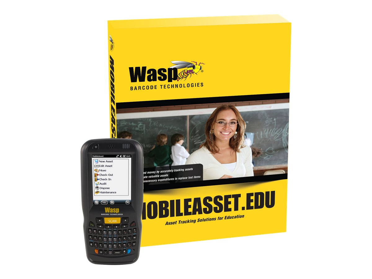 Wasp MobileAsset.EDU Professional with DT60 (5-user), 633808927721, 17411084, Portable Data Collector Accessories