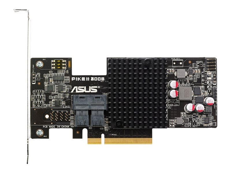 Asus 8-port Internal SAS 12Gb s RAID Card, PIKE II 3008-8i
