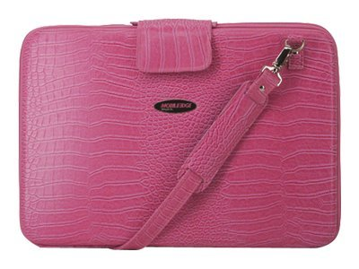 Mobile Edge Faux-Croc TechStyle Portfolio, Pink, MEPFCX-L, 6371081, Carrying Cases - Notebook