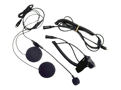 Midland Radio AVPH1 Open Face Helment Headset for Midland GMRS, AVPH1, 13847315, Headsets (w/ microphone)