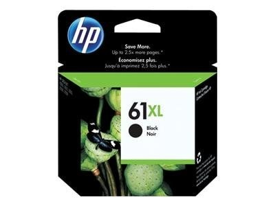 HP 61XL (CH563WN) High Yield Black Original Ink Cartridge, CH563WN#140, 11774079, Ink Cartridges & Ink Refill Kits