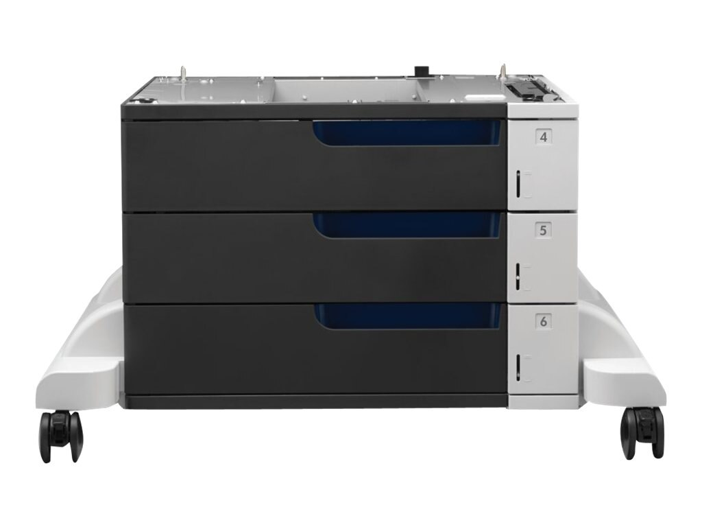 HP Color LaserJet 3x500-sheet Paper Feeder for HP Color LaserJet Enterprise CP4520 Printer Series, CC423A, 10964989, Printers - Input Trays/Feeders