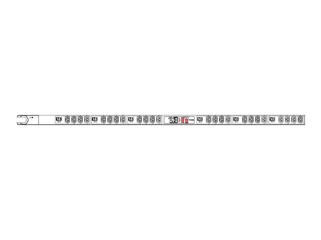 Raritan PX2 iPDU 17.3 20kVA 208 240V 48A 3-ph 0U IEC 60309 3P+E 9h 60A Input (24) C13 Outlets