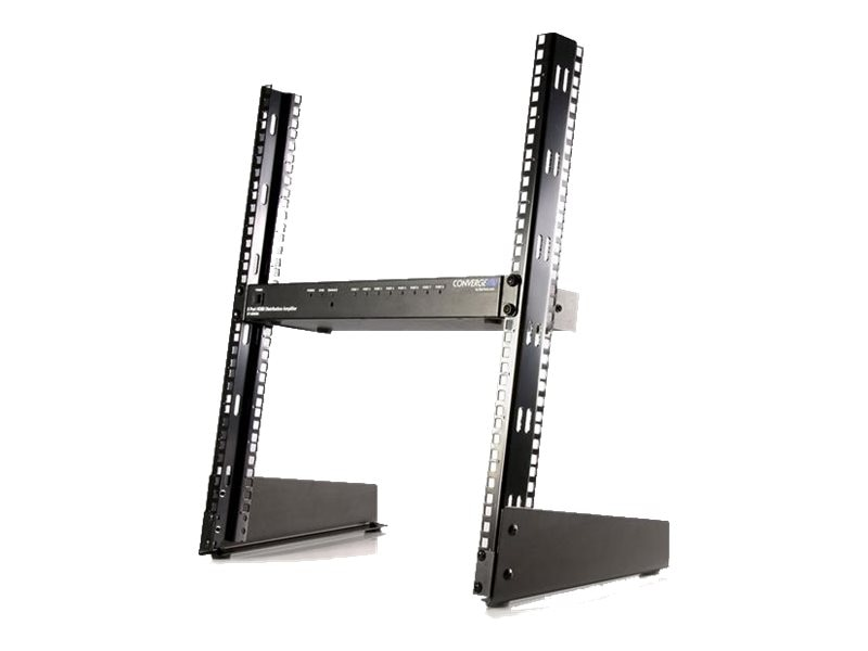 StarTech.com 19in Desktop Open Frame 2-Post Rack, 12U, RK12OD