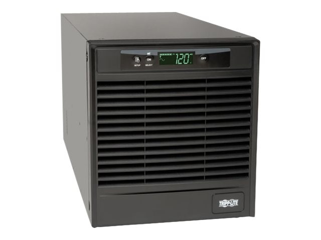 Tripp Lite SmartOnline 2.2kVA Online Double Conversion UPS, Tower, Interactive LCD, 120V, (7) Outlets, SU2200XLCD