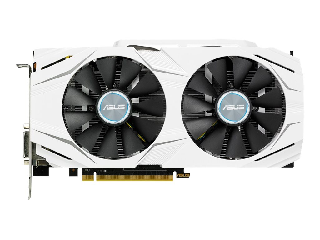 Asus GeForce GTX 1060 PCIe Overclocked Graphics Card, 6GB GDDR5, DUALGTX1060O6G