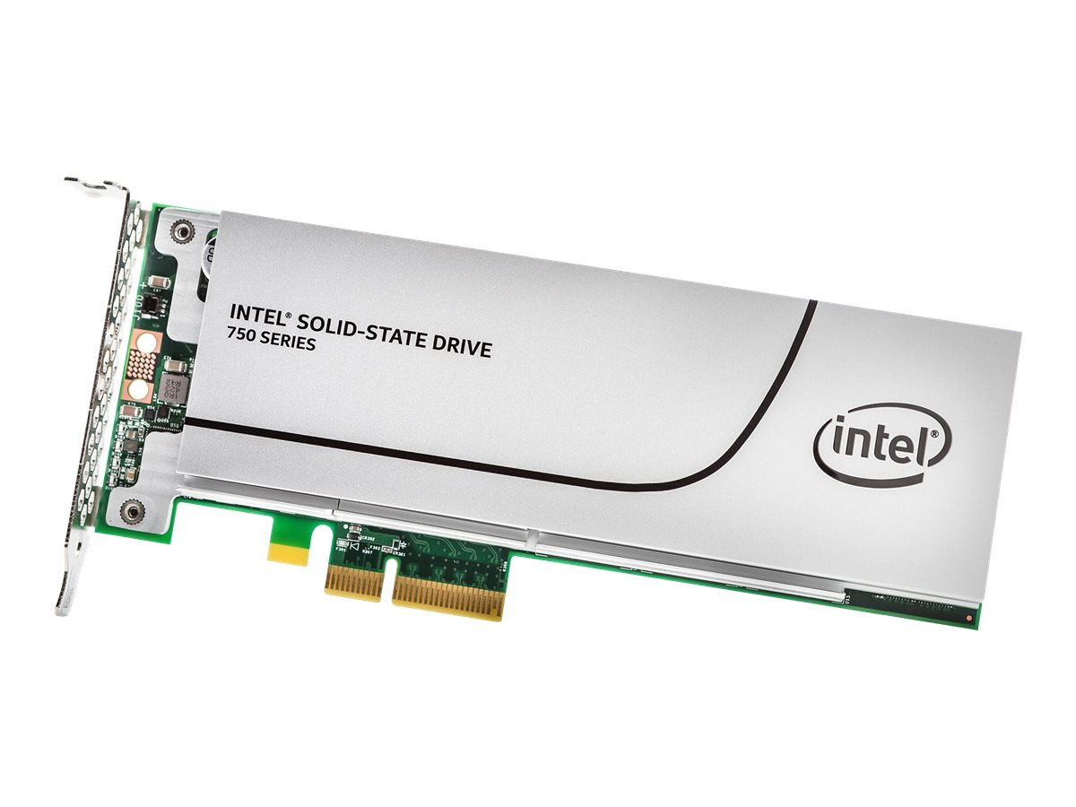 Intel 800GB Half Height PCIe 3.0 20NM MLC SSD, SSDPEDMW800G4X1