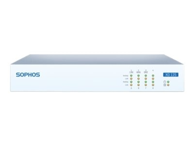 Sophos Corp. Sophos XG 125 TotalProtect, 1-year (US power cord), XB1C1CSUS