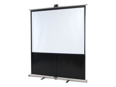 InFocus Deluxe Pull-Up Floor Projection Screen, 4:3, 80