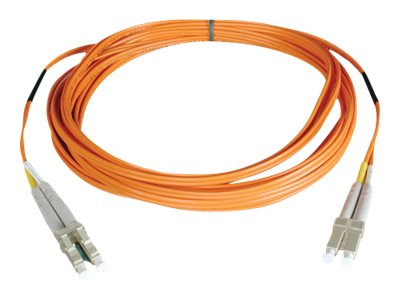 Tripp Lite Fiber Optic Cable, LC-LC, 62.5 125, Duplex, Multimode, 10m, N320-10M