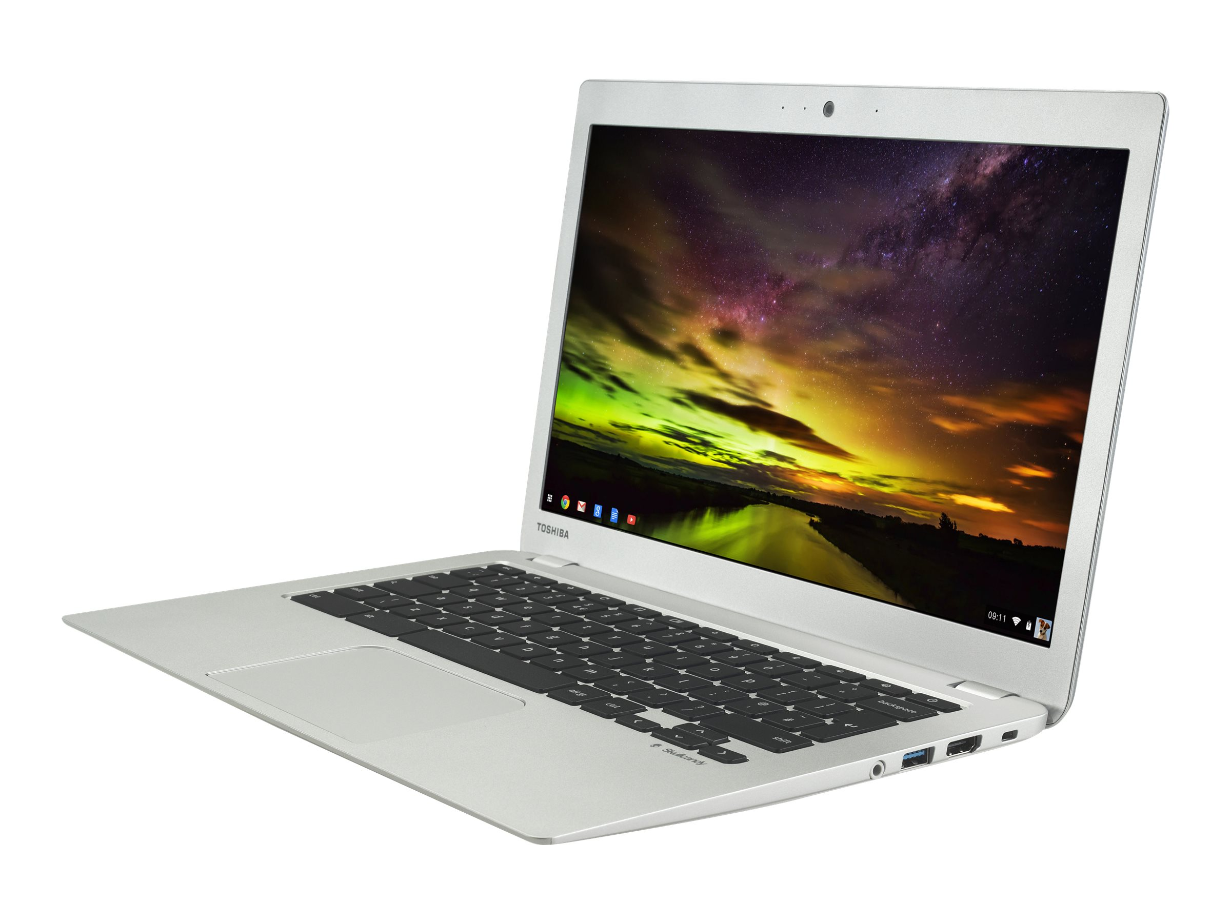 Toshiba Notebook PC Chromebook 4GB Chrome OS, PLM03U-00G001, 30613799, Notebooks