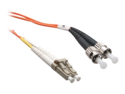 Axiom LC-ST 62.5 125 OM1 Multimode Duplex Fiber Cable, 4m, TAA, AXG94566