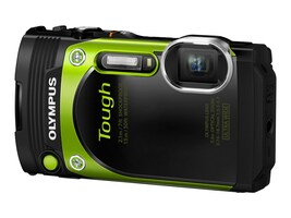 Olympus Stylus Tough TG-870 Digital Camera, Greeen, V104200EU000, 31188721, Cameras - Digital