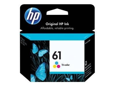 HP 61 (CH562WN) Tri-color Original Ink Cartridge, CH562WN#140, 11305070, Ink Cartridges & Ink Refill Kits