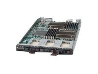 Supermicro Processor Blade, Intel 5500, 2xLGA 1366, Max 96GB DDR3, 3x2.5 HS Bays, Video, SBI-7426T-T3, 14294644, Servers - Blade