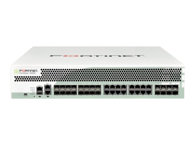 Fortinet FortiGate-1500D-USG Hardware + 2Yr 8 X 5 FC And FG UTM Bundle, FG-1500D-BDL-USG-900-24, 16394016, Network Firewall/VPN - Hardware