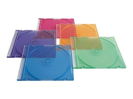 Verbatim CD DVD Color Slim Cases (50-pack), 94178, 263660, Media Storage Cases