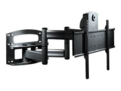 Peerless PLA Series Articulating Dual Wall Arm with Vertical Adjustment for 42-95 Displays, Black, PLAV70-UNL(P), 7086898, Stands & Mounts - AV