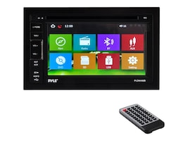 Pyle 6.5 Double-DIN In-Dash TFT LCD Touchscreen Navigation DVD Receiver, PLDNV66B, 31478058, Streaming Media Players