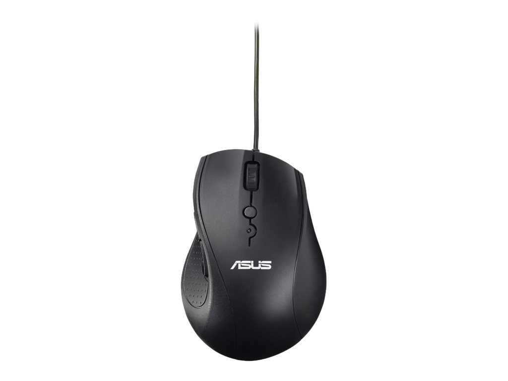 Asus UT415 Wired Mouse, Black, 90XB01K0-BMU000