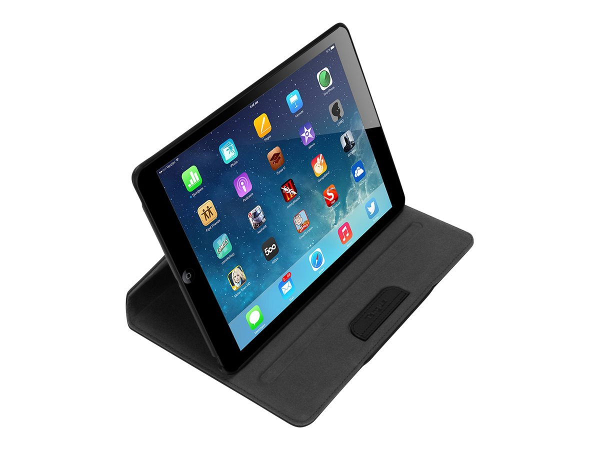 Targus Versavu for iPad Air 5th Generation 9.7, Noir Black, THZ196US