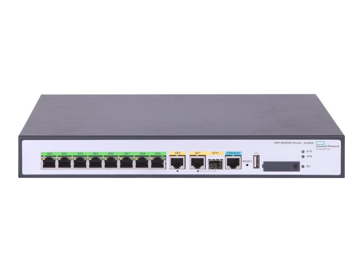 HPE MSR958 1GE & Combo Router (US)