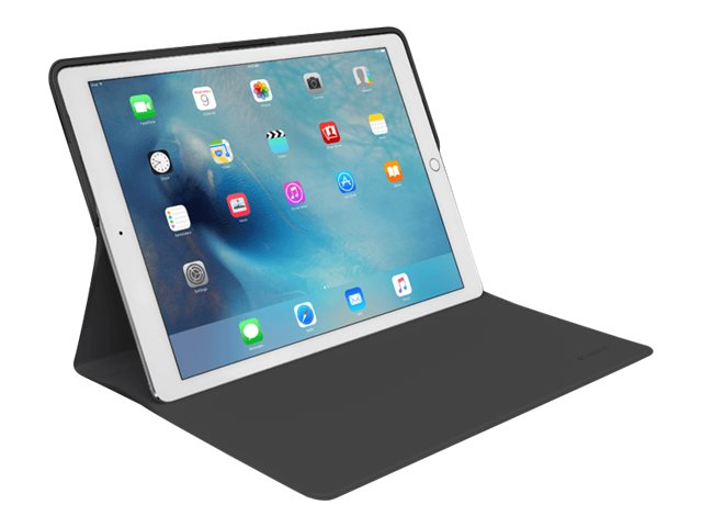 Logitech CREATE Protective Case w  AnyAngle Stand for iPad Pro, Black Black, 939-001416