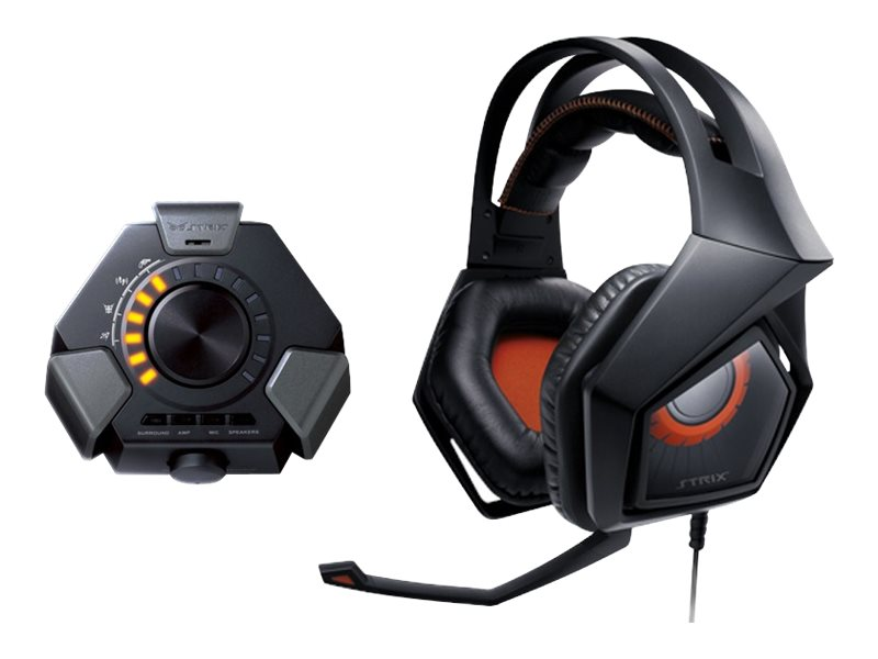 Asus Strix DSP 7.1 Gaming Headset, 90YH00A1-M8UA00, 25112439, Headsets (w/ microphone)