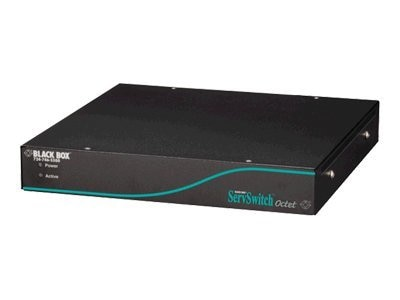 Black Box ServSwitch Octet KVM Base Unit, 4-users, 42-ports, KV1700A, 6131802, KVM Switches