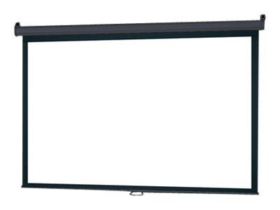 InFocus Manual Pull-Down Projection Screen, Matte White, 4:3, 100