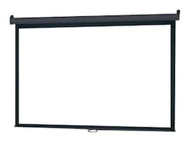 InFocus Manual Pull-Down Projection Screen, Matte White, 4:3, 120, SC-MAN-120, 12935145, Projector Screens