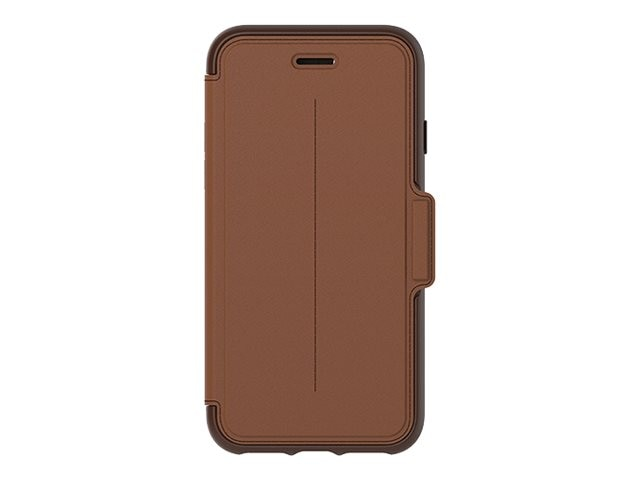 OtterBox Strada Folio for iPhone 7, Burnt Saddle