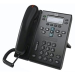 Cisco 6961 IP Phone Standard, Charcoal, CP-6961-CBE-K9, 13012650, VoIP Phones