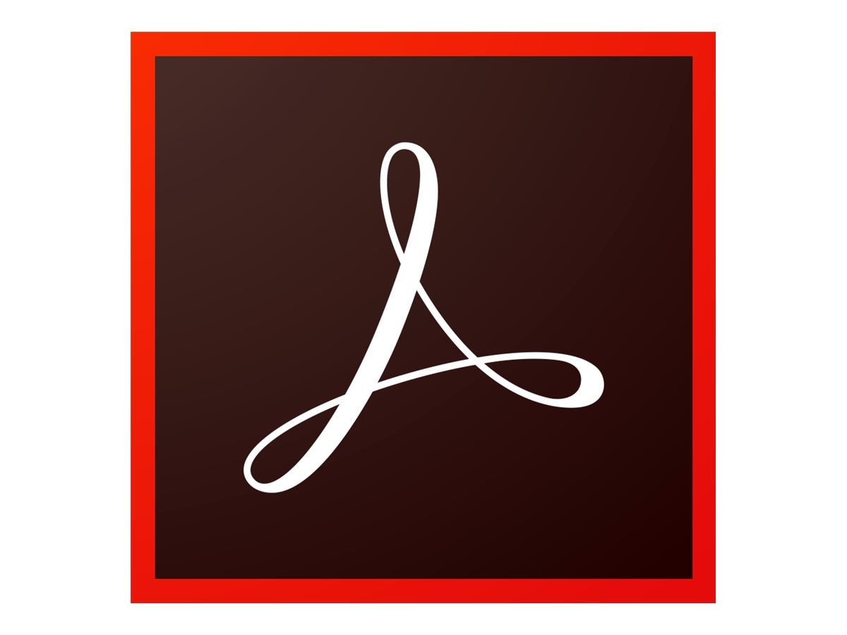 Adobe Corp. VIP Acrobat Pro DC Multi Plat Lic Sub 1 User Level 2 10-49 12 mo.