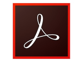 Adobe Corp. CLP Acrobat Standard DC 2015 Win License 1 User Level 2 100,000-299,999, 65258474AA02A00, 31069692, Software - File Sharing