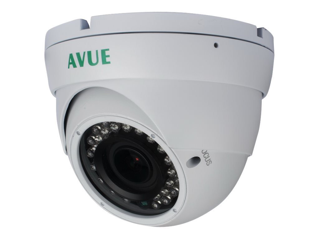 Avue 1000 TVL Day Night Dome CCTV Camera with 2.8-12mm Lens and OSD