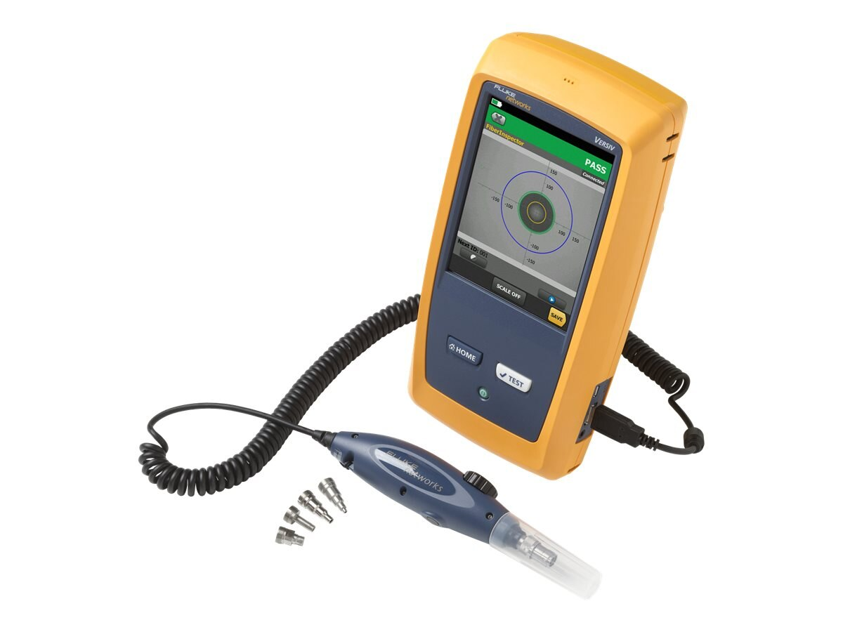 Fluke USB Fiber Inspection Video Probe for Versiv plus Tip Set