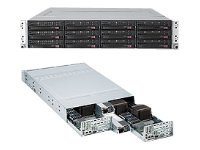 Supermicro SuperServer 6026TT-TF 2U RM with X8DTT-HIBXF+, 1400W PS, SYS-6026TT-D6IBXRF, 12277875, Barebones Systems