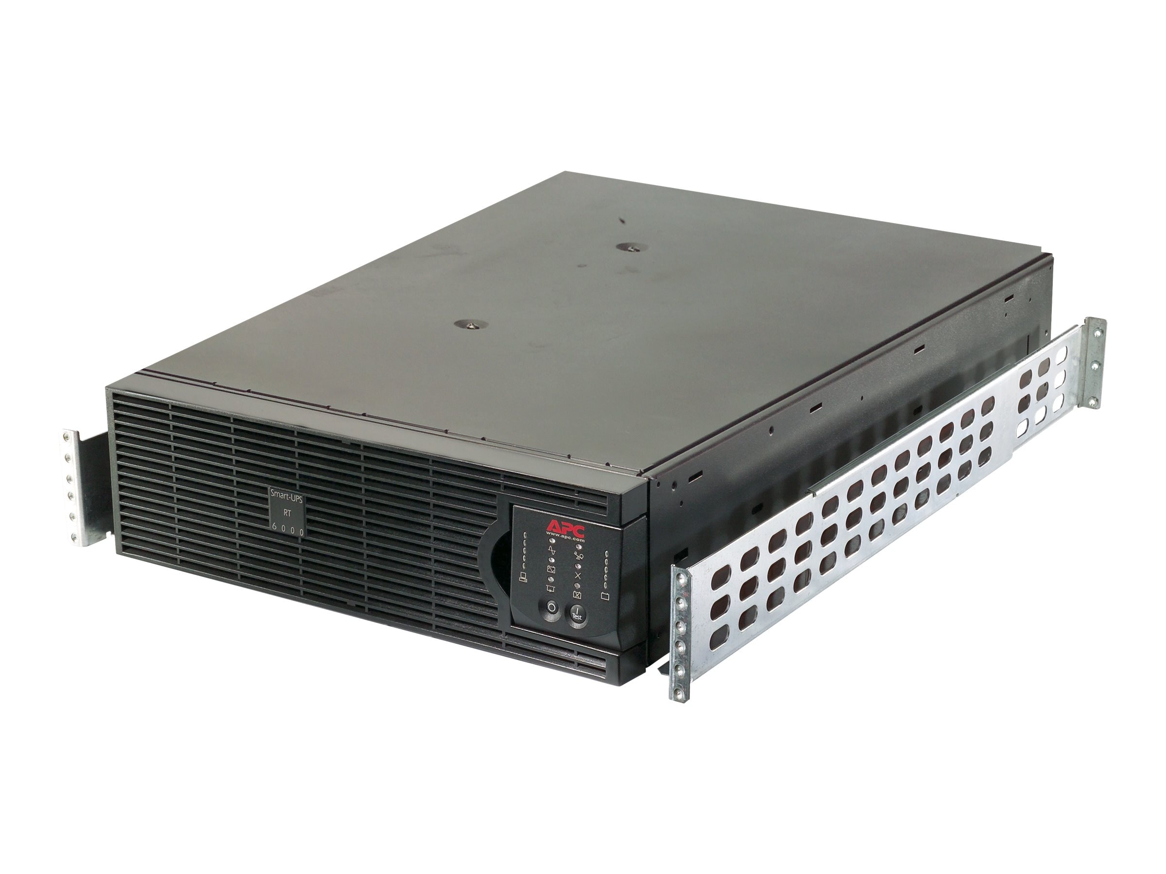 APC Smart-UPS RT 3000VA 2100W 120V L5-30P Input (6) 5-15R (2) 5-20R Outlets Network Card, SURTA3000RMXL3U-NC, 30899256, Battery Backup/UPS