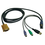 TrippLite-Cables Tripp Lite KVM Switch Cable Kit, PS2/USB Combo Cable