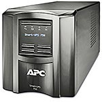 APC Smart-UPS 750VA 500W 120V LCD Tower UPS (6) 5-15R Outlets USB, EXCLUSIVE Buy - Save $22, SMT750, 10334469, Battery Backup/UPS