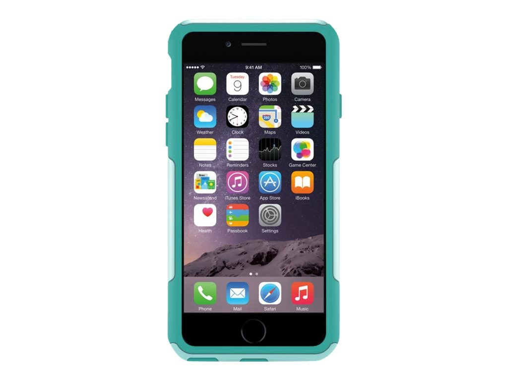 OtterBox Commuter Series for iPhone 6 4.7, Aqua Sky, 77-50221, 17786169, Carrying Cases - Phones/PDAs