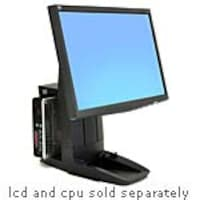 Ergotron Neo-Flex All-In-One SC Lift Stand for LCD and CPU, Black, 33-338-085, 10354021, Stands & Mounts - AV
