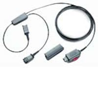 Plantronics In-Line Y Cable w  Quick Disconnect, 27019-03, 103715, Cables