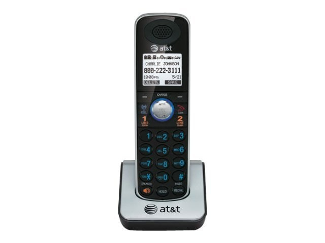 AT&T DECT 6.0 Accessory Handset with Caller ID Call Waiting, TL86009, 11151533, Telephones - Consumer