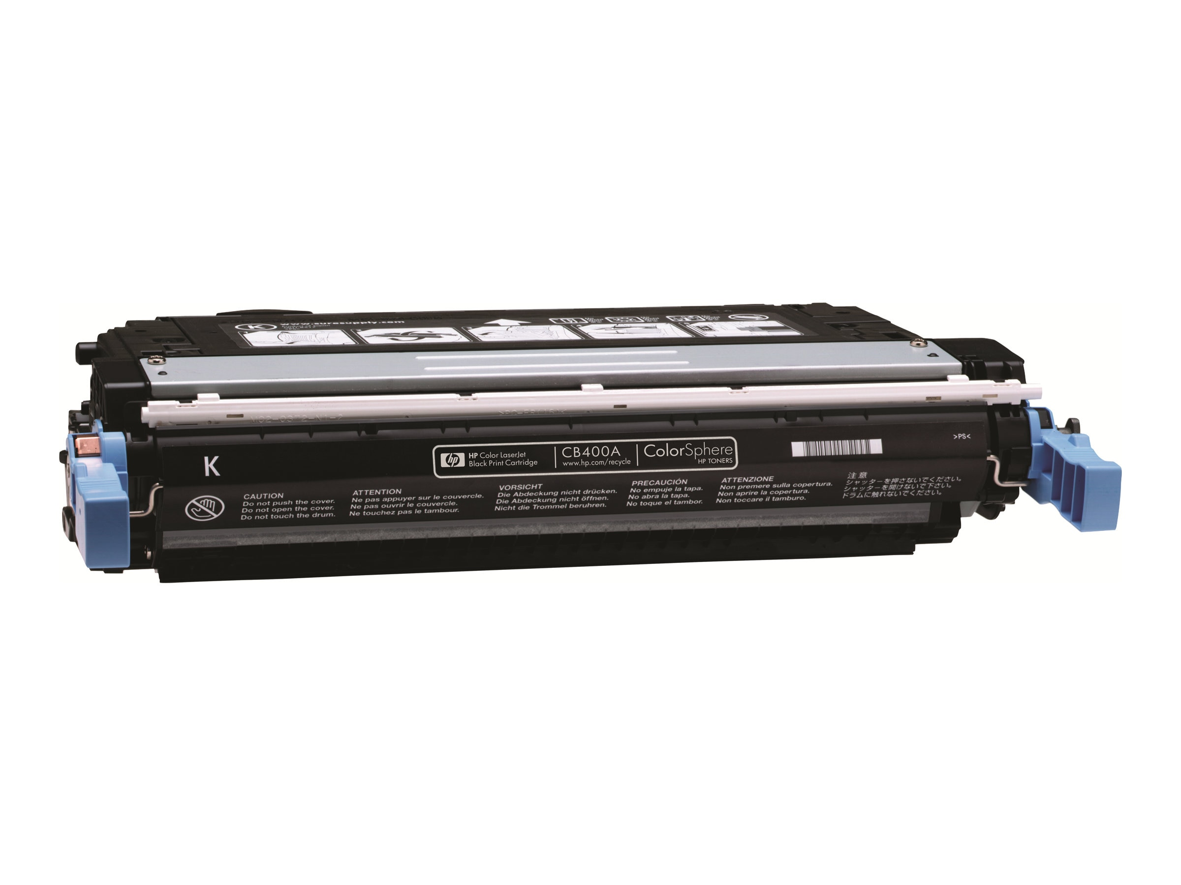 HP HP 642A, Black Original LaserJet Toner Cartridge