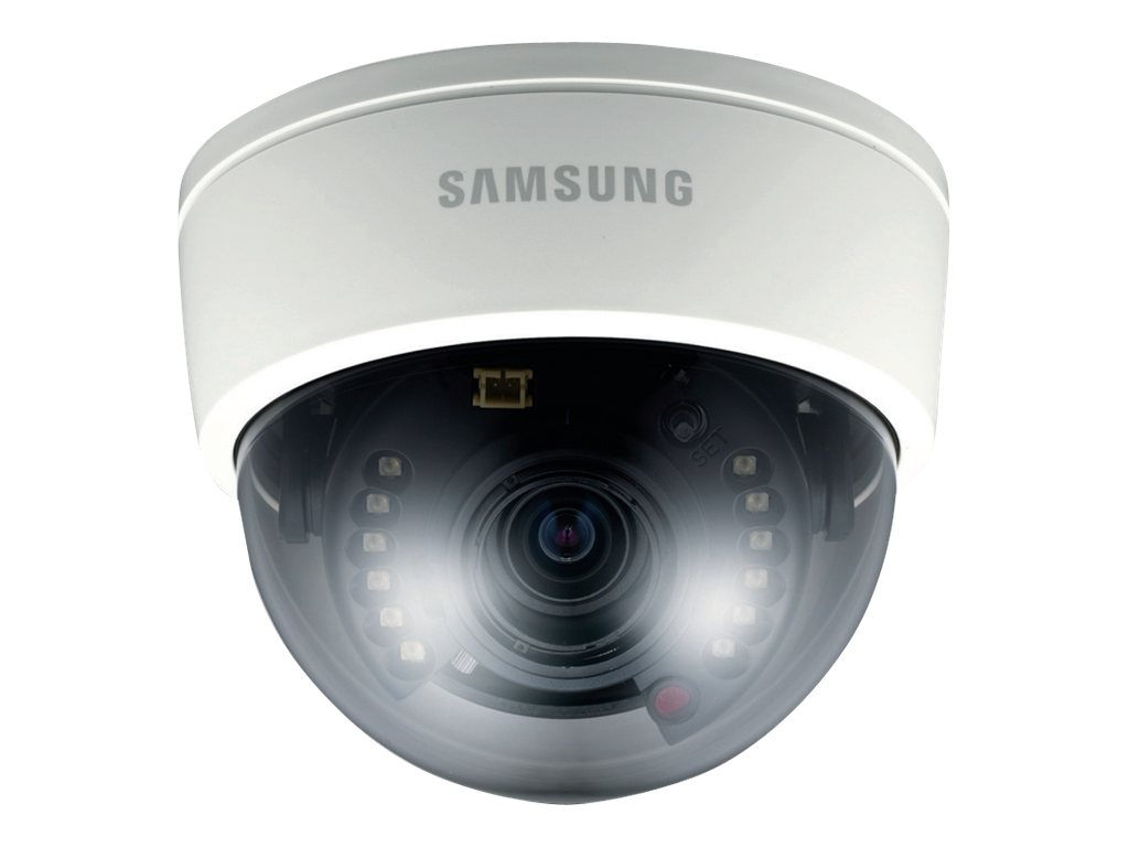 Samsung 600TVL High Resolution IR Dome Camera with 2.8-10mm Lens, SCD-2080R